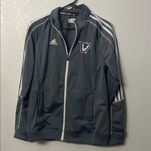 Adidas Grey Track Jacket